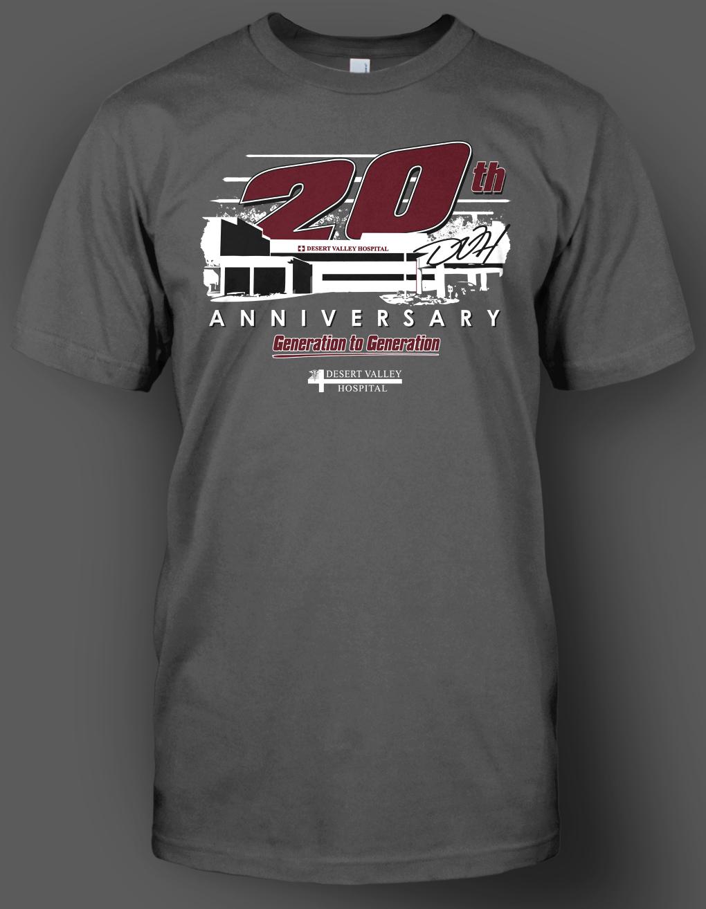 Design t shirt gildan - Dvh 20th Shirt